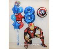 Набор шариков Супергерой
