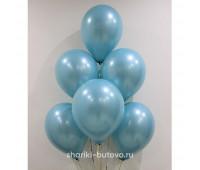 Гелиевые шары (аква металл)