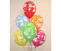 Гелиевые шары (машинки)
