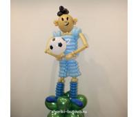 Фигура из шариков Футболист