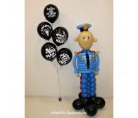 Фигура из шаров Полицейский