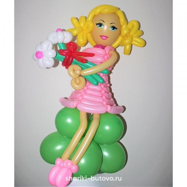 Девочка из воздушных шариков