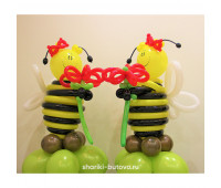 Пчелки из воздушных шариков