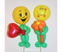 Человечки из воздушных шариков