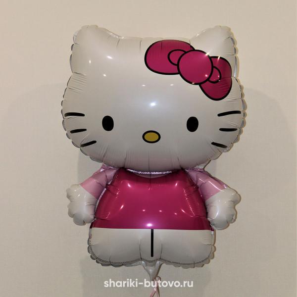 Фольгированный воздушный шар (Hello Kitty)