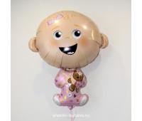 Фольгированный воздушный шар (карапуз)