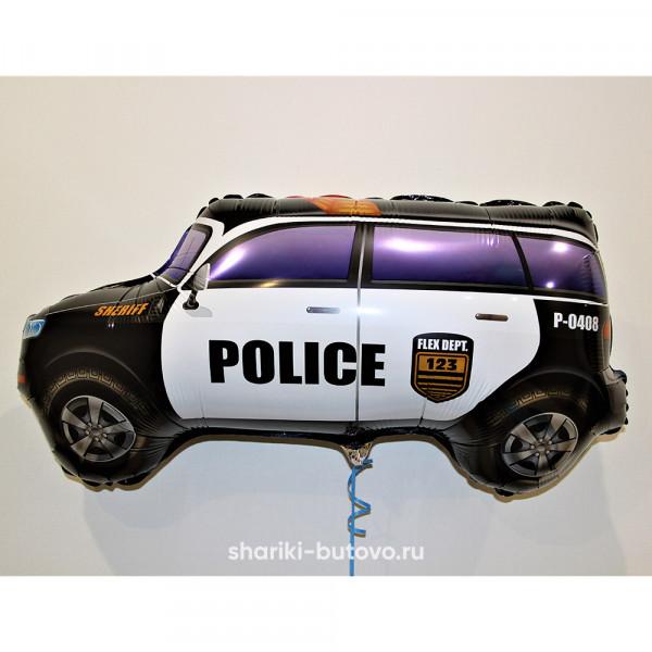 Фольгированный воздушный шар (полицейская машина)