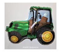 Фольгированный воздушный шар (трактор)