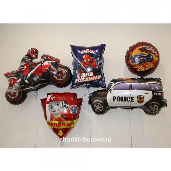 Фольгированный воздушные шары для мальчика