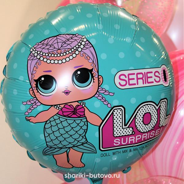 Фольгированный воздушный шар (Лол)