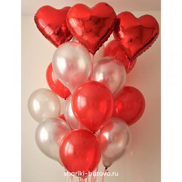 Облако шариков Любовь