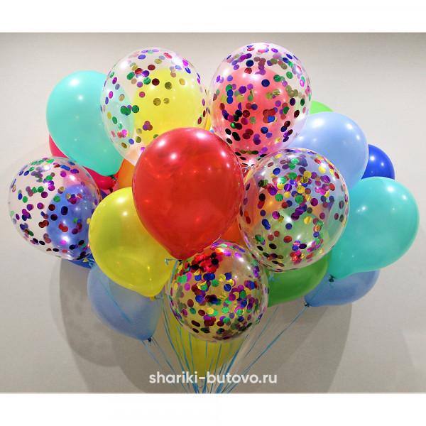 Облако шариков на праздник