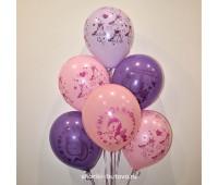 Гелиевые шары (единорожки)