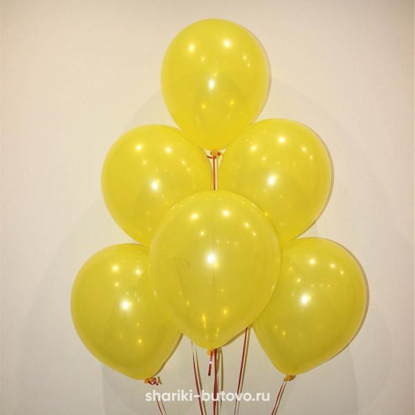 Гелиевые шары (желтый)