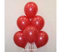 Гелиевые шары (красный пастель)