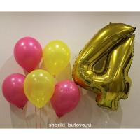 Букет из шариков на День Рождения