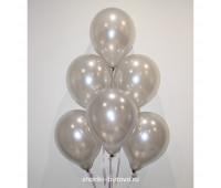 Гелиевые шары (серебро, металл)