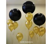 Гелиевый шар-гигант (цвета в ассортименте)