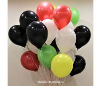 Гелиевые шары (микс, пастель)