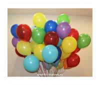 Гелиевые шары (цвета в ассортименте)