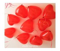 Шарики Красное сердце