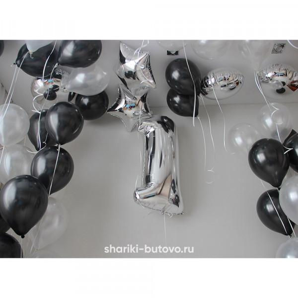 Композиция из шариков