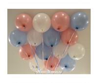 Гелиевые шары (Пастель)