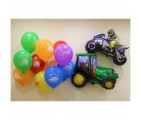 Композиция из шариков на День Рождения