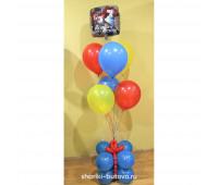 Фонтан из шариков с Трансформером