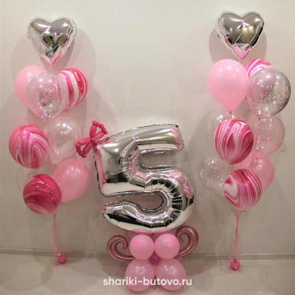 Композиция на день рождения для девочки